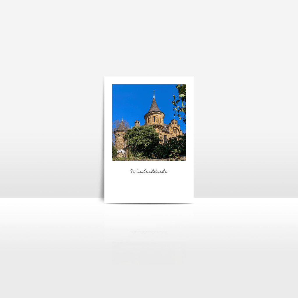 Postkarte Burg Dattenfeld
