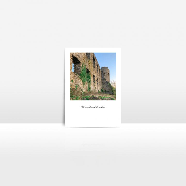 Postkarte Burg Windeck