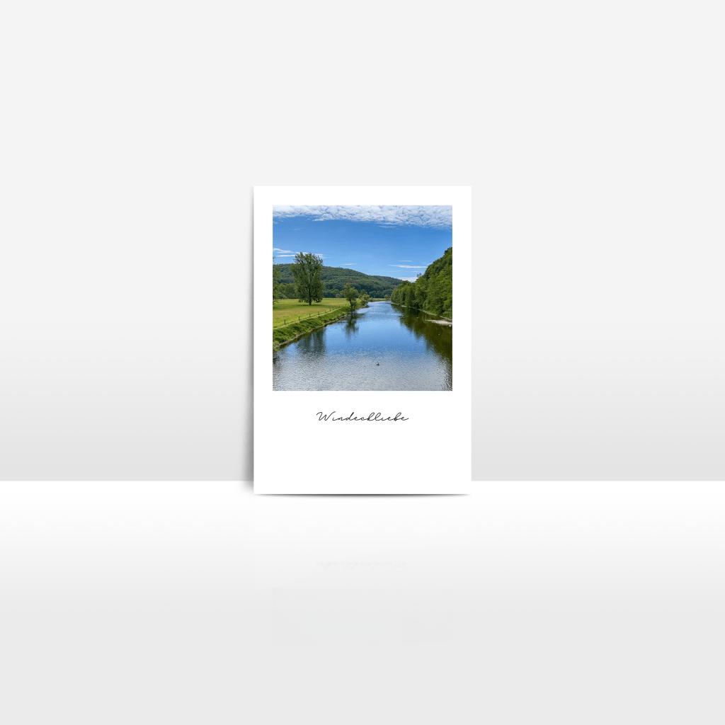 Postkarte Sieglandschaft