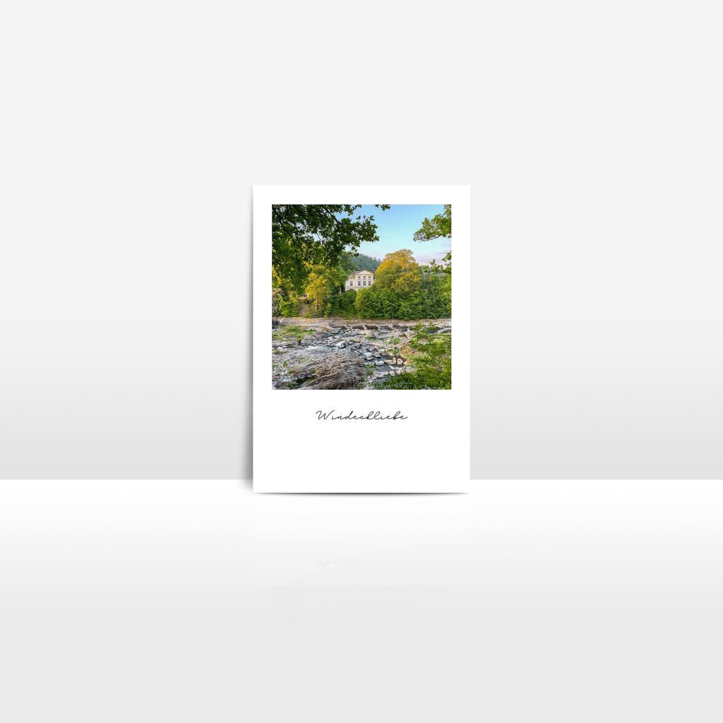 Postkarte Siegwasserfall