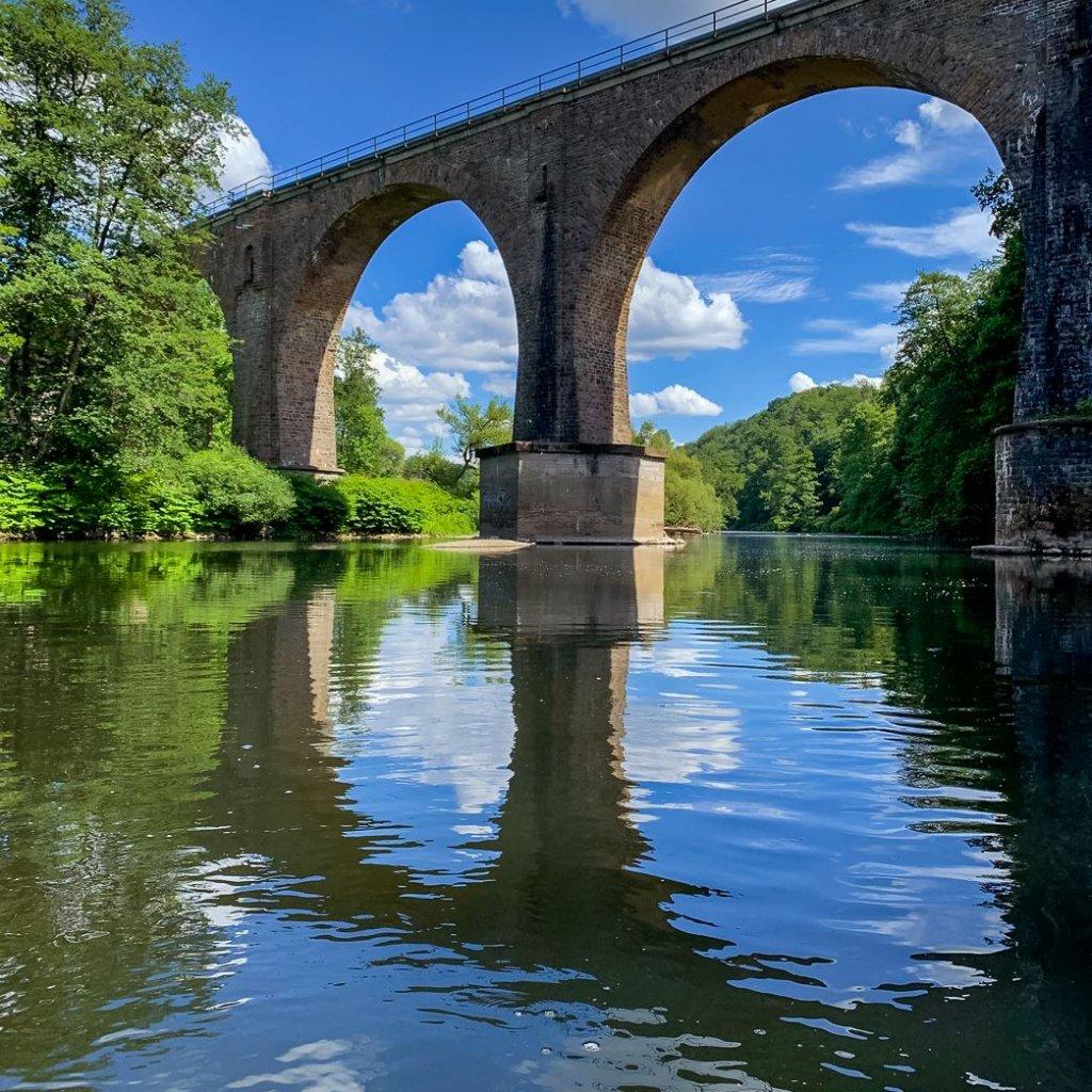 Eisenbahnbrücke über die Sieg