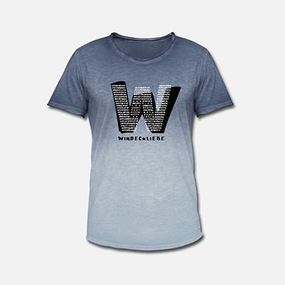 Herrenshirt Windeck W blau