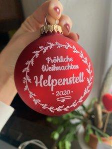 Fröhliche Weihnachten Helpenstell